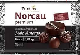 NORCAU PREMIUM MEIO AMARGO BARRA 1 KG