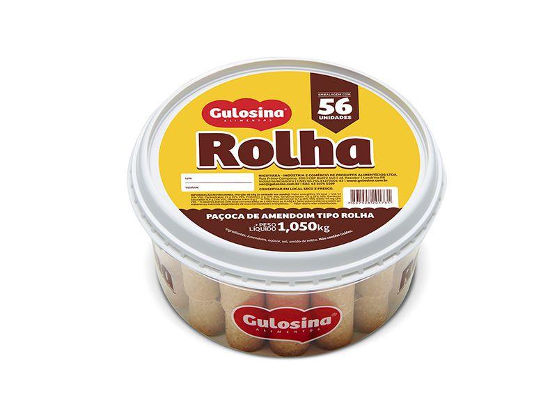 PAÇOCA ROLHA GULOSINA 1050G C/56