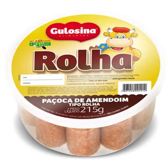 PAÇOCA ROLHA GULOSINA 215 G