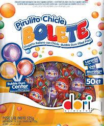 PIRULITO BOLETE SORTIDO C/50 - DORI