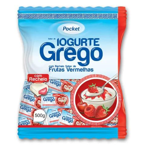 POCKET BALA IOGURTE GREGO 500G