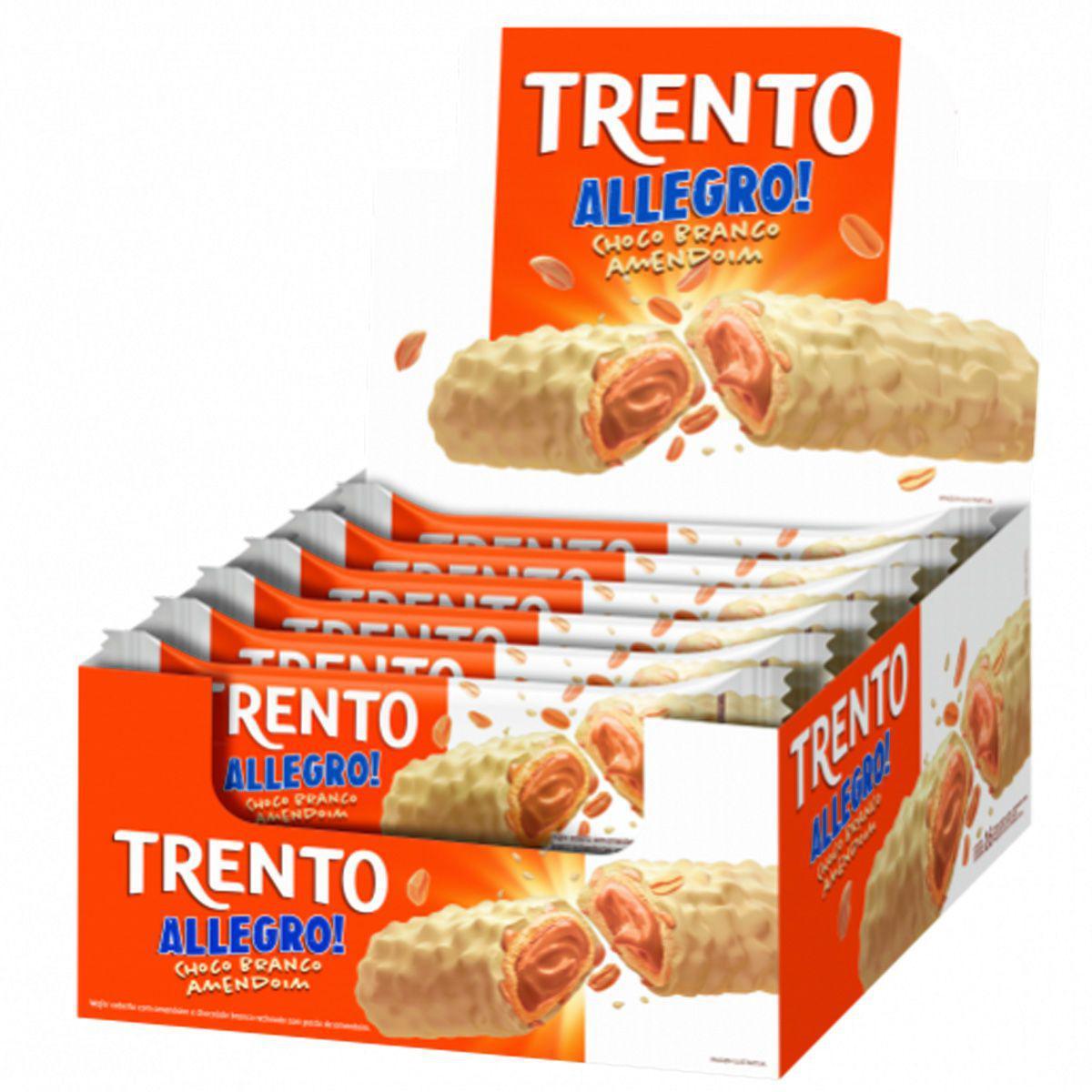 TRENTO ALLEGRO CHOCOLATE BRANCO  C/16