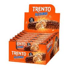 TRENTO ALLEGRO CHOCOLATE C/ AMENDOIM C/16