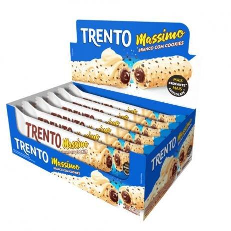 TRENTO MASSIMO BRANCO COM COOKIES C/16