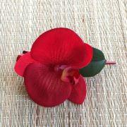 Bico de Pato Orquídea Vermelha