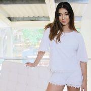 Conjunto Blusa e Short Branco
