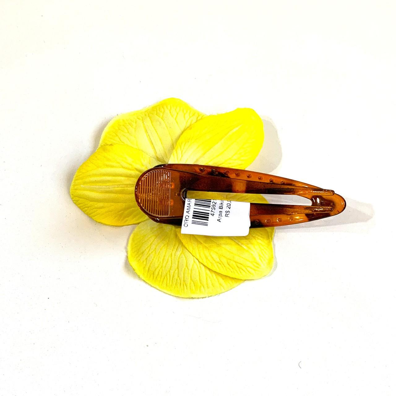 Bico de Papagaio Orquídea Amarela