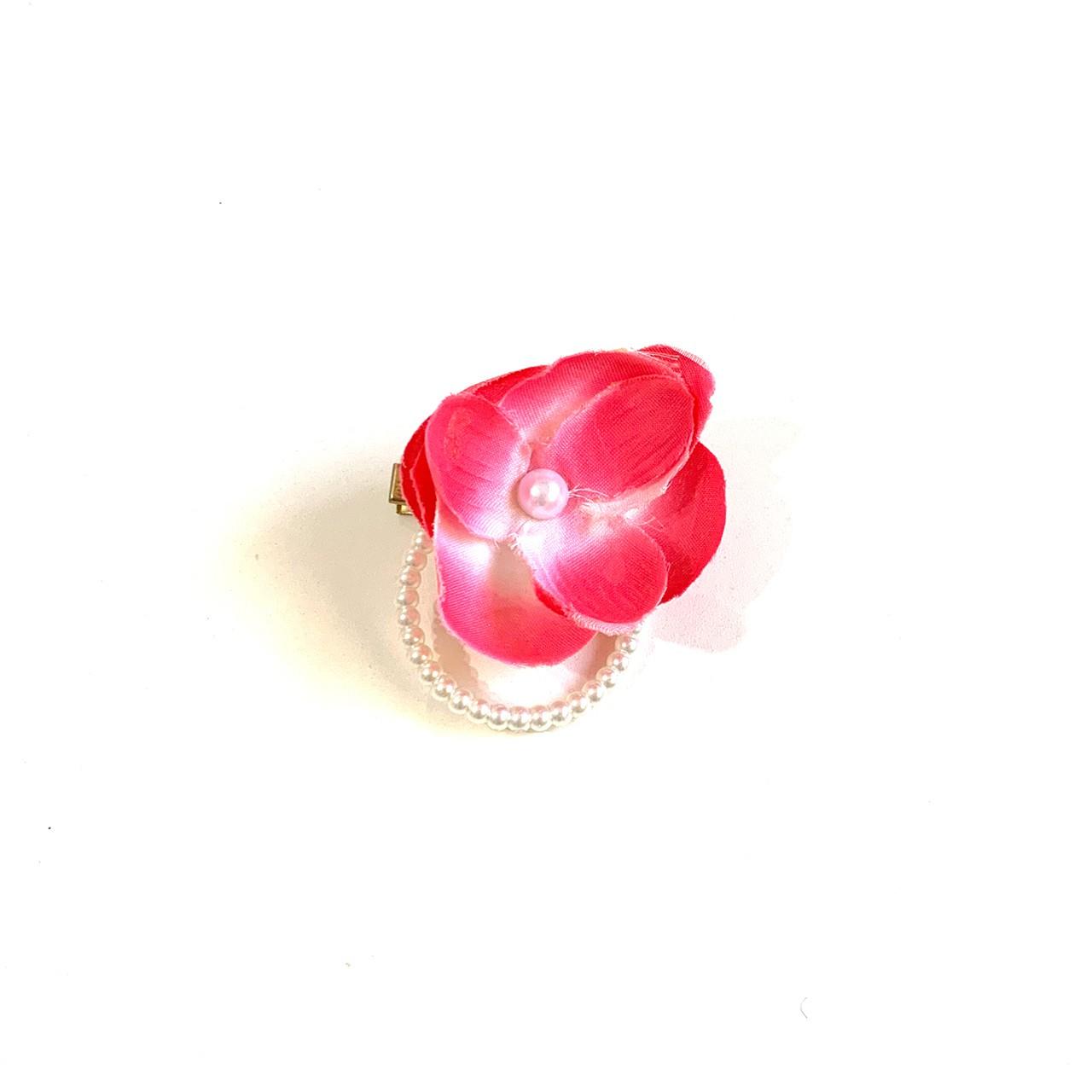 Bico de Papagaio Pequeno Flor Rosa