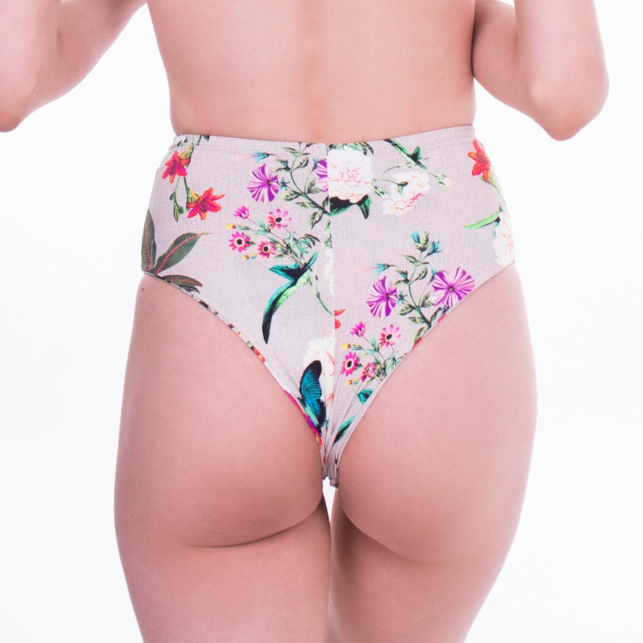Biquíni Calcinha Hot Pants Retrô Milagres