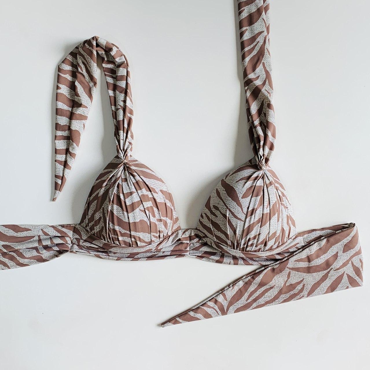 Biquíni Top Coconut Zebra Nude