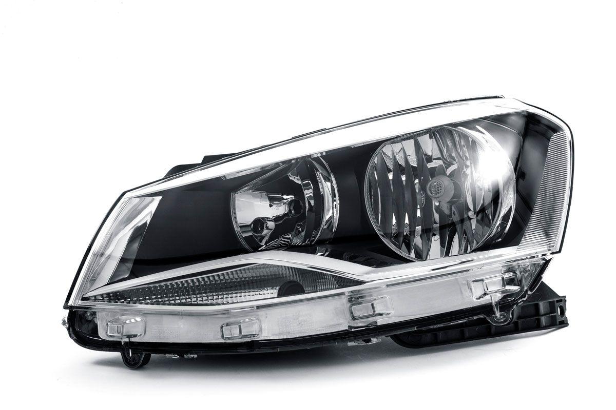 FAROL PRINCIPAL VW GOL G6/ VOYAGE 2013/16 2P/4P MASCARA CROMADA
