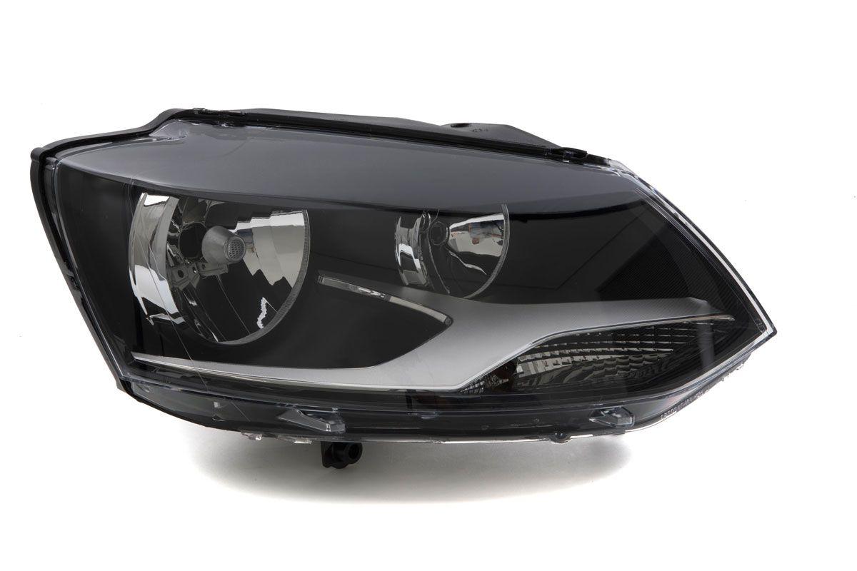 FAROL VW FOX/ SPACEFOX 2010/2014 DUPLO MASCARA NEGRA ARTEB
