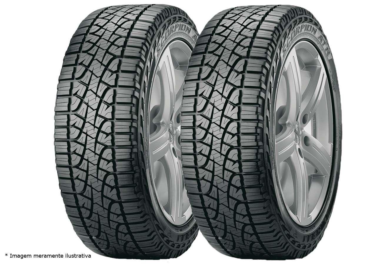 Kit 02 Pneus 255/65 R 17 - Scorpion Atr 110t Pirelli - S10 Troler