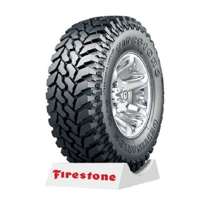 Kit 04 Pneus 31 x 10,5 R 15 - Destination M/T 23 109Q - Firestone