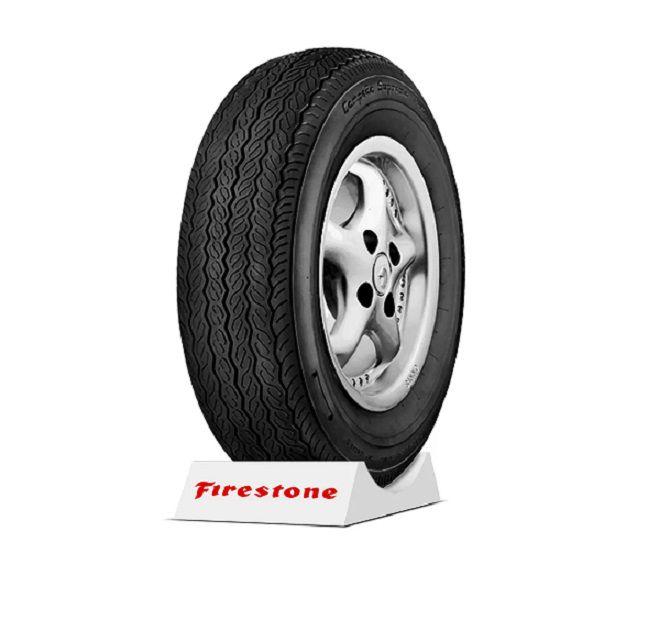 Kit 04 Pneus 5.60 X 15 P671 Campeão Firestone Fusca Brasilia