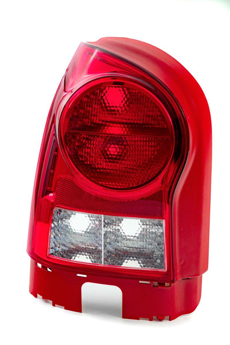 LANTERNA TRASEIRA VW GOL G4 2006/2014 2P/5P CARCAÇA VERMELHA ARTEB