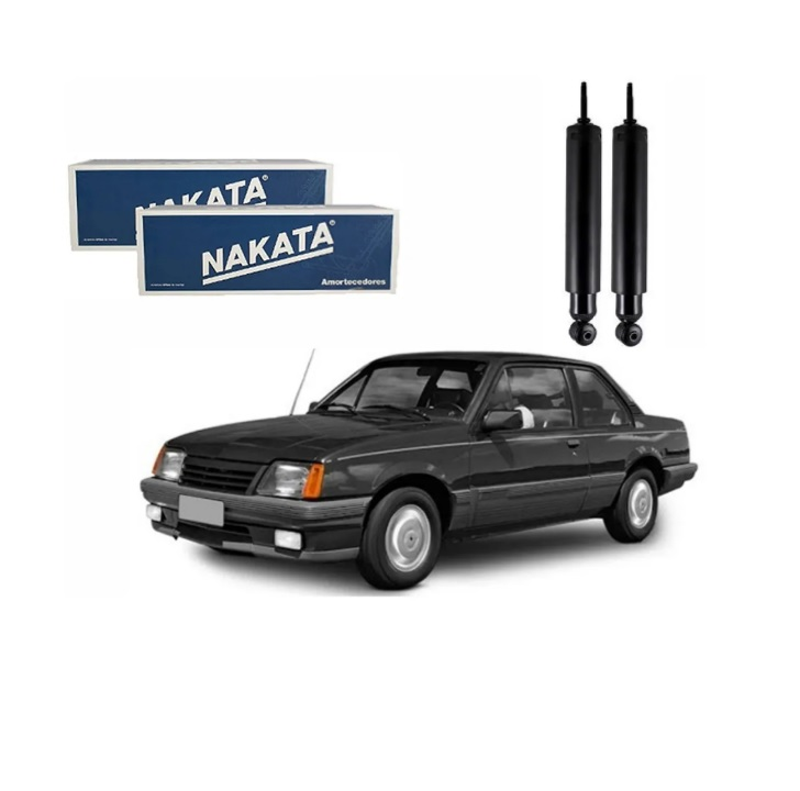 Par Amortecedor Traseiro Monza AC30553 Nakata