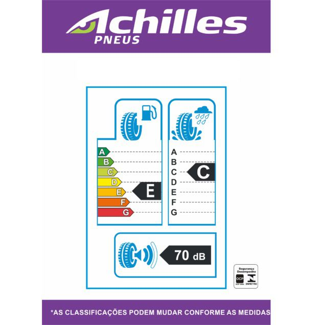 Pneu 175/65 R 14 - 868 82H - Achilles