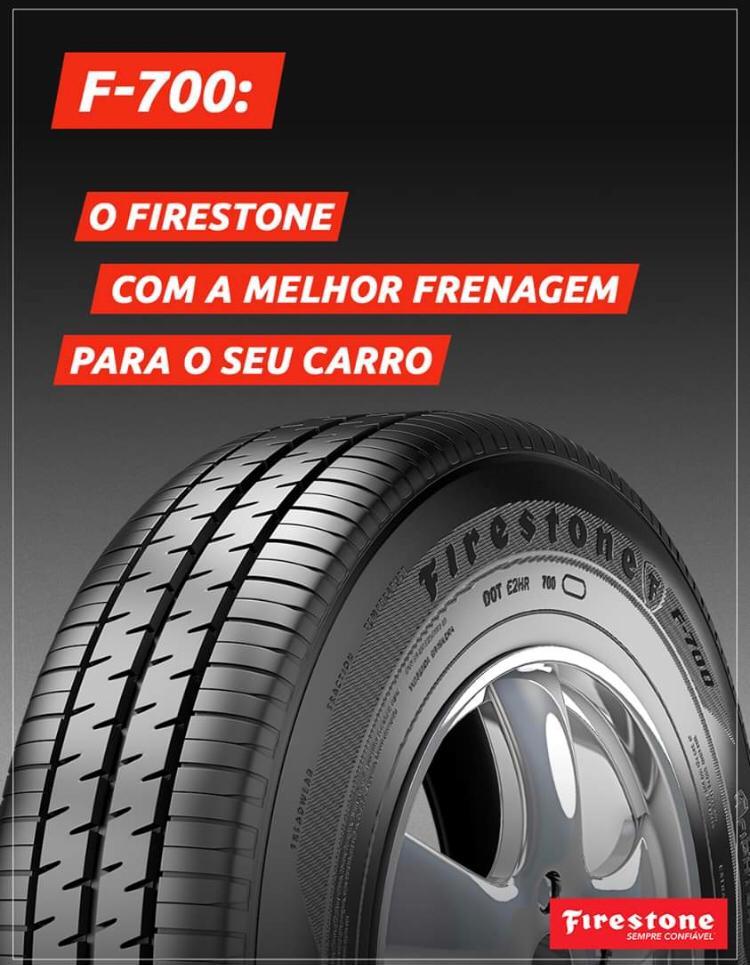 Pneu 185/65 R 14 - F700 86t - Firestone