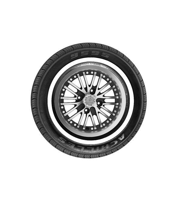 Pneu 205/75 R 15 - 9595 103S Willys Achilles Faixa Branca