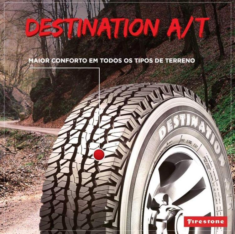 Pneu 255/75 R 15 - Destination A/t 109/105s - Firestone