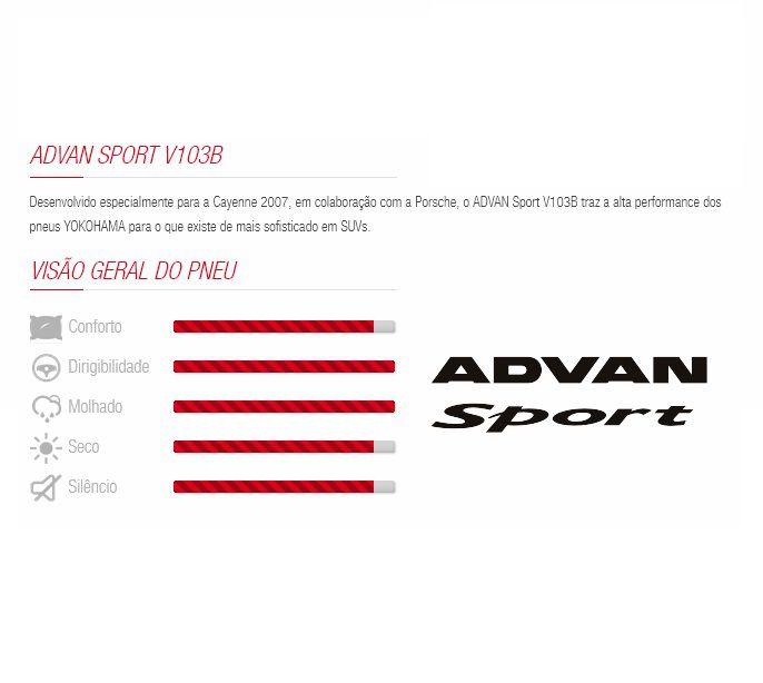 Pneu 295/35 R 21 - Advan Sport V103b 107y N1 Yokohama