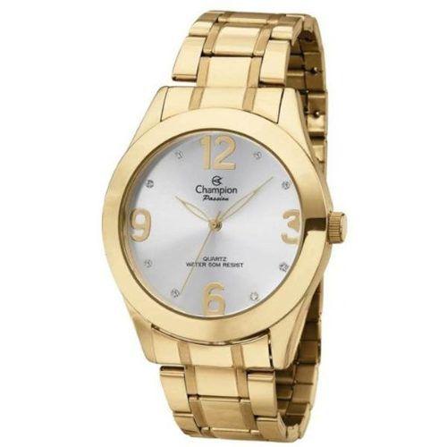 06beb8e3903 Relógio Feminino Dourado Champion Ch24268h