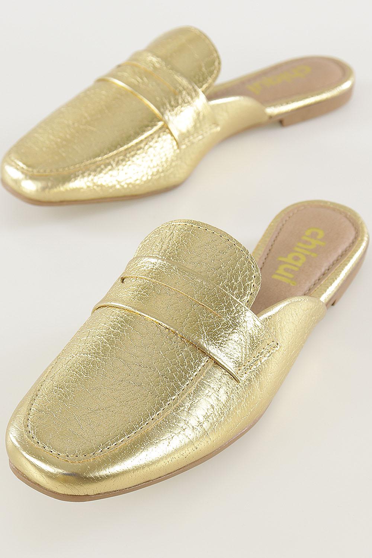 Mule Chiqui Clássico Dourado AC