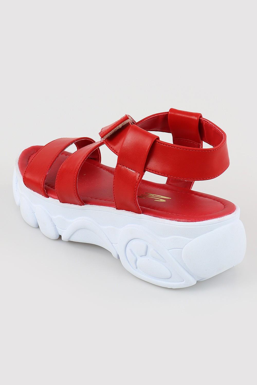Papete Chiqui Tratorada Napa Branco/Vermelho AC
