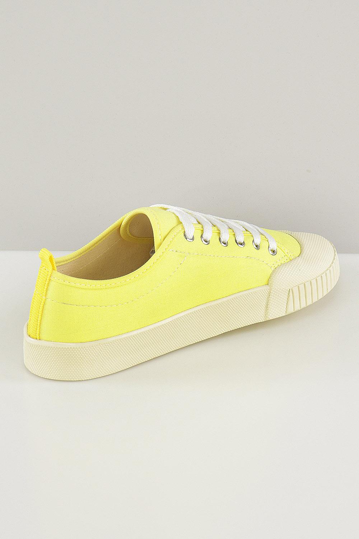 Tênis Chiqui Baixo Cadarço Amarelo AC