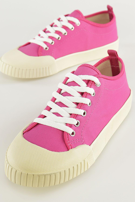 Tênis Chiqui Baixo Cadarço Pink AC