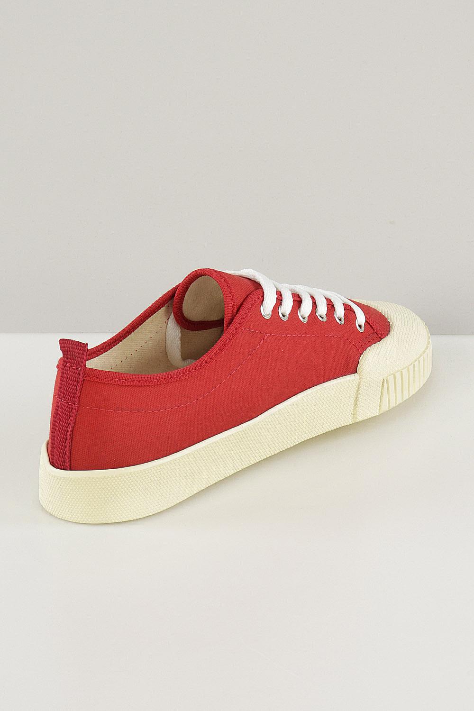 Tênis Chiqui Baixo Cadarço Vermelho AC