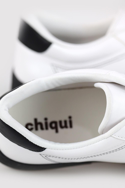 Tênis Chiqui Casual Branco/Preto