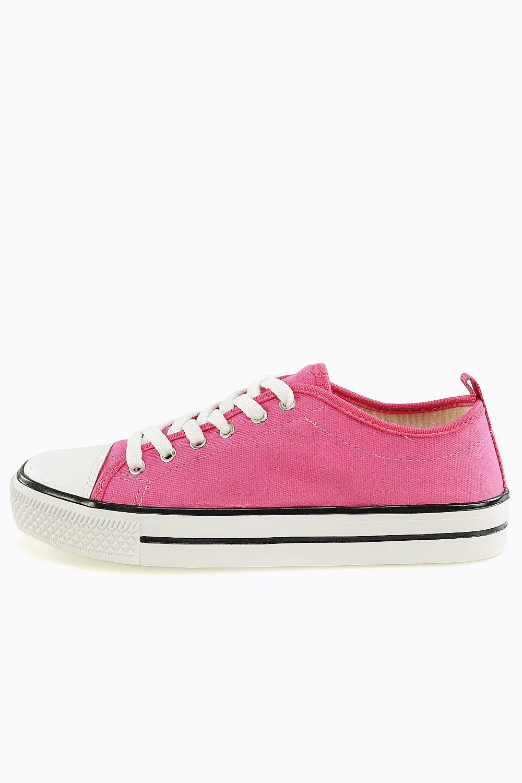 Tênis Chiqui Casual Sola Caixa Cano Baixo Pink AC