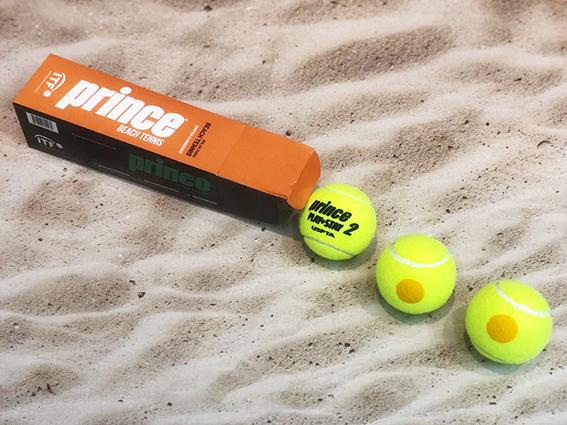 Bola de Beach Tennis Prince Play Stage 2 (terno)