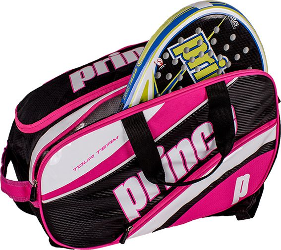 Raqueteira Padel TOUR TEAM FUCSIA/BLACK