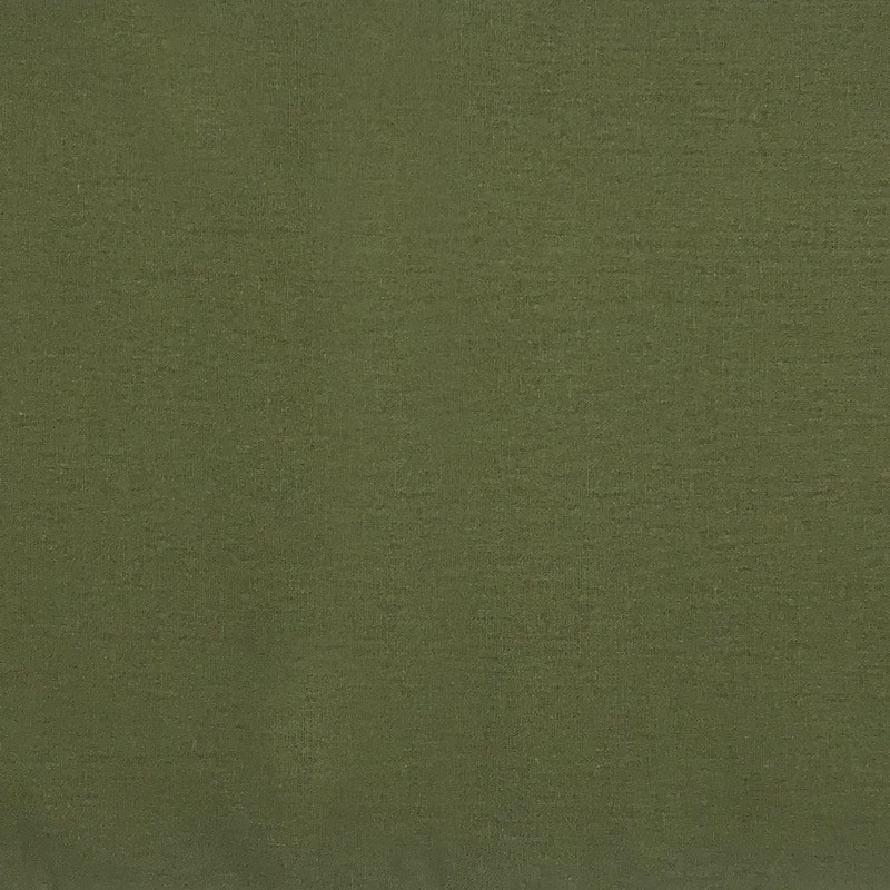 1000 Tons - Linho Misto Liso - Verde Musgo - 50cm X136cm