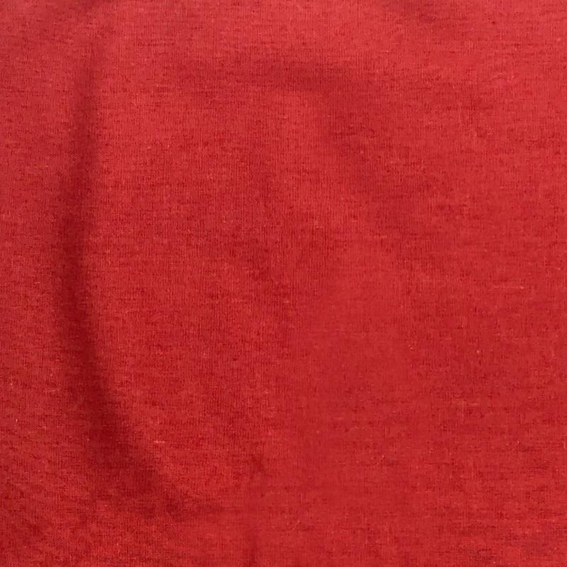 1000 Tons - Linho Misto Liso - Vermelho - 50cm X136cm