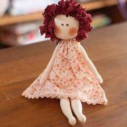 Boneca Cabelinho customizável - Sob encomenda