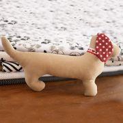Cachorro Salsicha de pano customizável - Sob encomenda