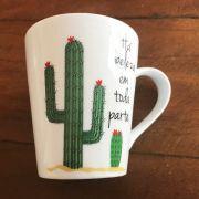 Caneca Cactus Tá beleza em toda parte