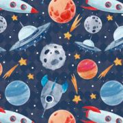 Estampa Astronautas 02