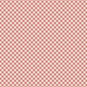 Estampa Camponesa Micro Xadrez Rosa