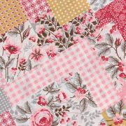 Estampa Floral Patchwork