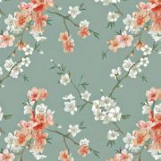 Estampa Kokeshi Floral