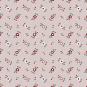 Estampa Micro floral Fundo Rosa