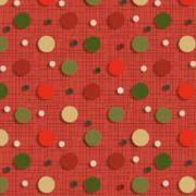 Estampa Natal Bolinhas Coloridas