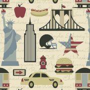 Estampa New York 1