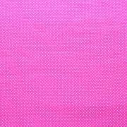 Estampa Poá Branco Fundo Pink