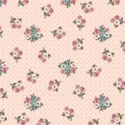 Estampa Tilda Floral Rosa